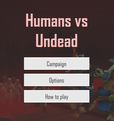 Humans vs Undead
