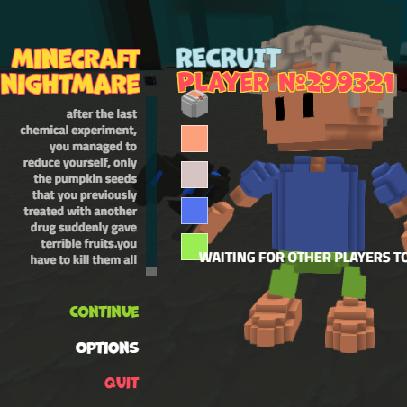 Minecraft Nightmare